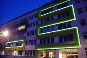vonkajšie osvetlenie budov