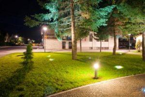 zuberec námestie verejné osvetlenie