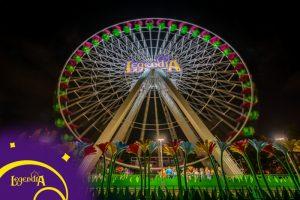 osvetlenie zábavných parkov a zážitkových areálov