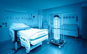 uvc system dezinfekcia uv žiarením a bezkontaktné ničenie baktérií